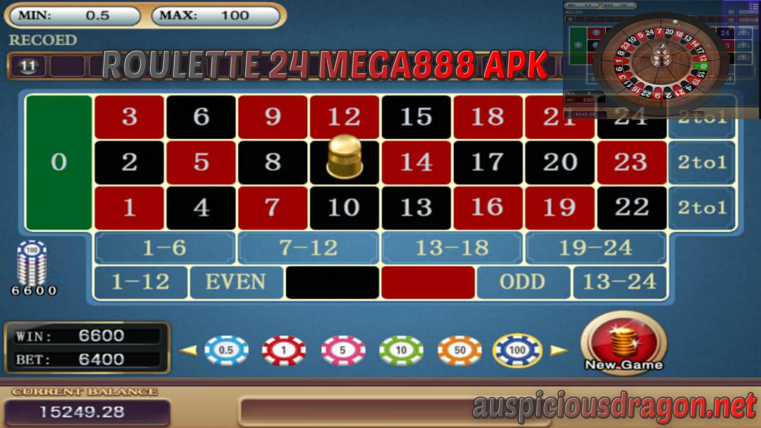Permainan Roulette 24 mega888